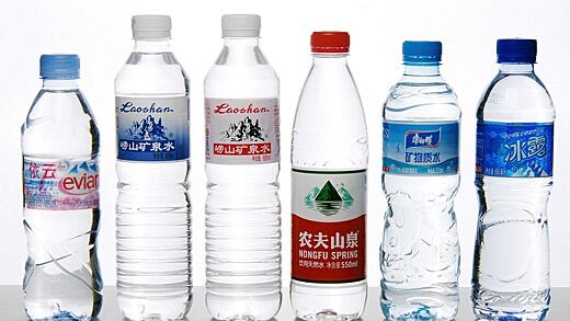 各种矿泉水品牌