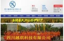 集团公司网站案例:四川越琪科技