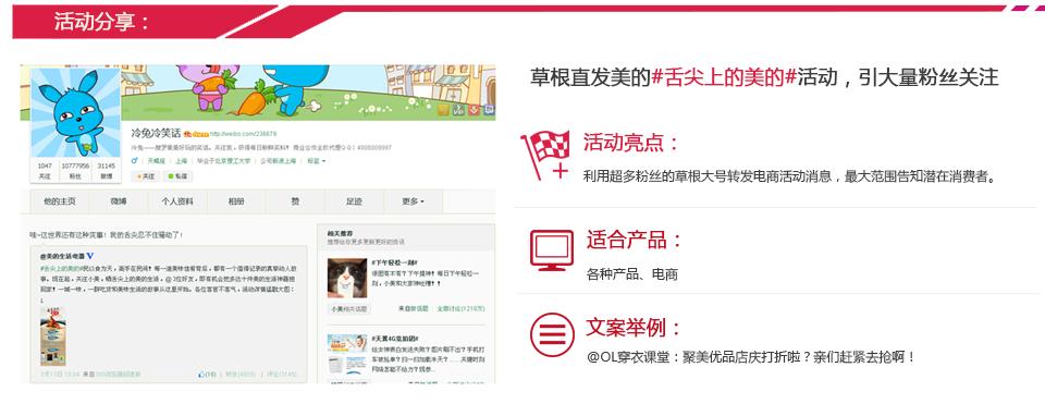 微博营销效果1-活动分享